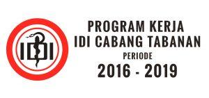 Program Kerja IDI Cabang Tabanan Periode 2016-2019